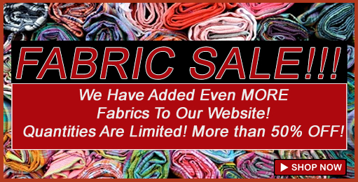 Click Here to Shop Our Fabric!