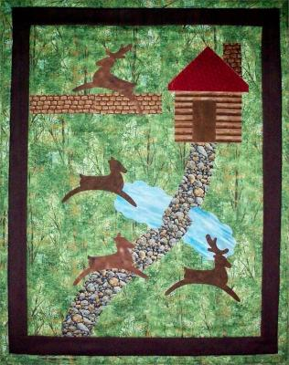 Deer in the Woods Quilt Pattern AV-115