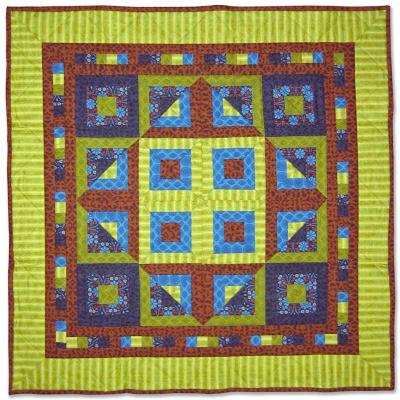 Magic Square Quilt Pattern BC-208