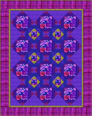 Purple Delight Quilt Pattern BC-209