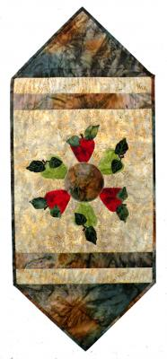 Batik Apple Table Runner Pattern BS2-284