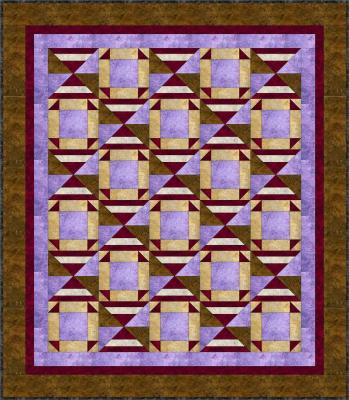 Sand Dune Quilt Pattern BS2-302