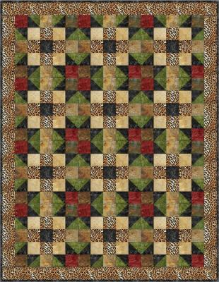 Safari Fun Quilt Pattern BS2-306