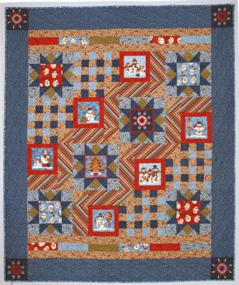 Winter Stars Quilt Pattern CMQ-110