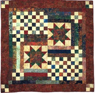 Double Star Quilt Pattern CMQ-111