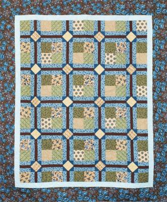 Circle Around the 4 Patch Quilt Pattern CMQ-114