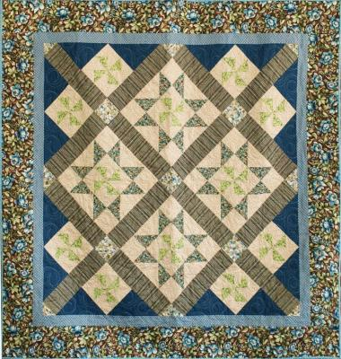 Turning Stars Quilt Pattern CMQ-120