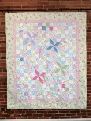Simple Garden Quilt Pattern CMQ-124