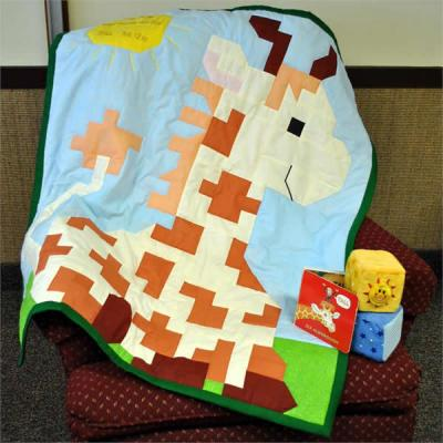 Nigel the Giraffe Quilt Pattern CQ-029