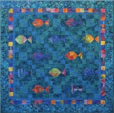 Sea Jewels Quilt Pattern CQA-301