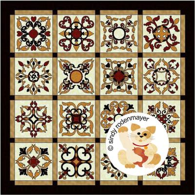 Southern Gentleman Quilt Pattern FCP-001