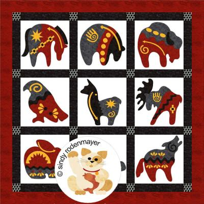 Native Flair Quilt Pattern FCP-006