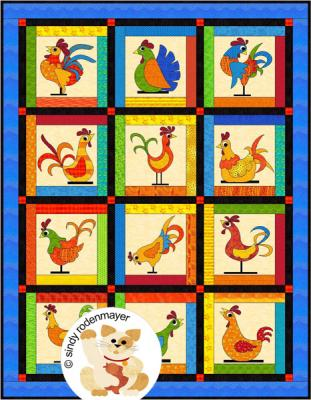 Funky Chickens Quilt Pattern FCP-013