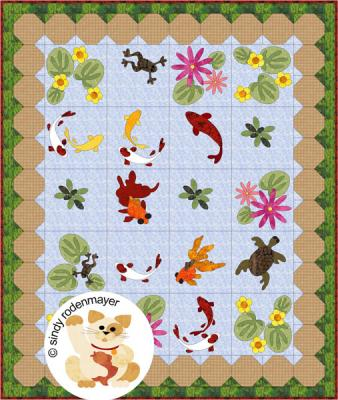 Summer Pond Quilt Pattern FCP-014