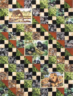 Animal Attraction Quilt Pattern FHD-103