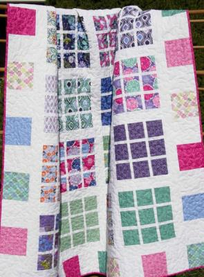 Apartment Nine Quilt Pattern LLD-001