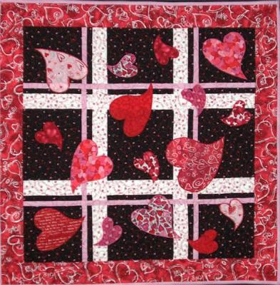 Hearts Afield Quilt Pattern LOB-101
