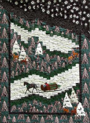 The Woods on a Snowy Eve Quilt Pattern ME-109