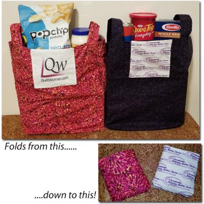 Always Handy Tote Bag Pattern NDD-107