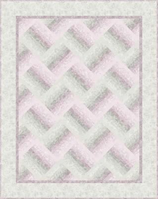 Misty Rail Fences Quilt Pattern PC-102
