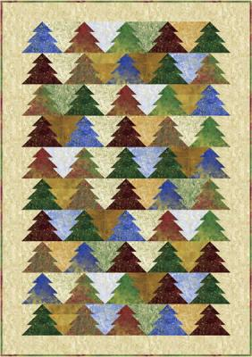 Oh Christmas Tree! Quilt Pattern PC-119