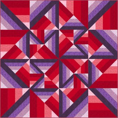 Unexpected Twist Quilt Pattern QN-002