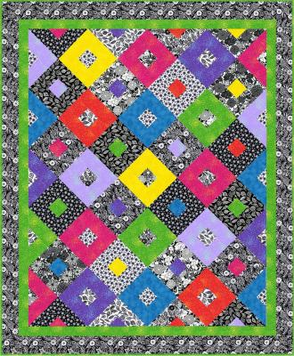 Do-Si-Do Quilt Pattern -  Straight to the Point Series QW-01