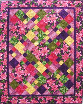 Contra Dance Quilt Pattern - Straight to the Point Series QW-03