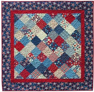 Chock Full O' Charms Quilt Pattern - Straight to the Point Series QW-11