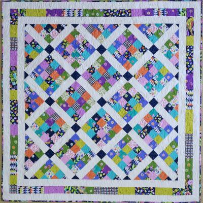 Jelly Patch Quilt Pattern - Straight to the Point Series QW-14