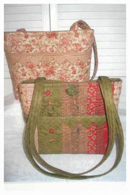 "Pockets Are A Girl's Best Friend ""Sweet Pea"" Purse Pattern SBK-002"