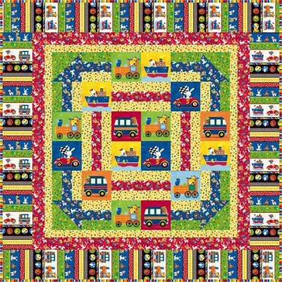 Always on the Move Quilt Pattern SM-125