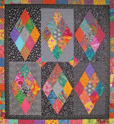 Diamonds Sparkle Quilt Pattern SM-130