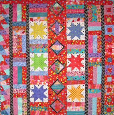Dot...To...Dot...To...Dot Quilt Pattern SM-134