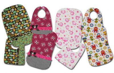 Basic to Bling Bibs and Burp Cloths Pattern ST-103