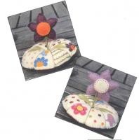 Pique Epingle Fleur (Flower Pincushion) Pattern ADI-114