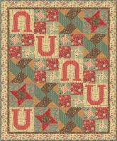 Lucky Star Quilt Pattern AEQ-42