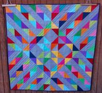 Sunshine on a Cloudy Day Quilt Pattern AEQ-48
