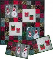 Holiday Snowmen & Gifts Pattern AV-112