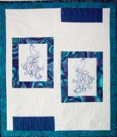 Precious Peacocks Quilt Pattern AV-119