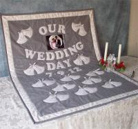 Wedding Bells Signature Wall Hanging Pattern AV-121