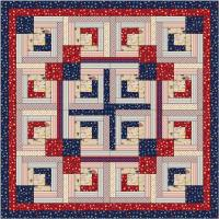 Reversible Patriotic Table Topper Pattern AV-124