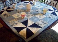 Tea Time Blues Quilt Pattern AV-125