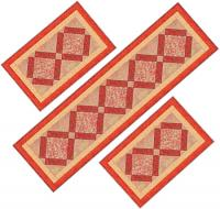 Kitchen Delight Placemats & Table Runner Pattern AV-131