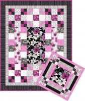 Lola's Bouquet Quilt & Pillow Set Pattern AV-136
