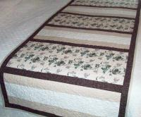 Fit for a King (or Queen) Bed Runner Pattern AV-139
