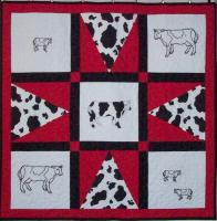 Holy Cow! Embroidery Quilt Pattern AV-144