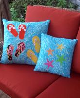 Summer Fun Pillows Pattern AV-155