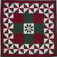 Holly Wreath with a Twist Quilt Pattern AV-161