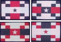 """Star""ing Four Fat Quarters Quarters Quilt Pattern AV-163"